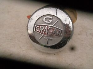 Vintage Cragar Gt Center Cap 3 1 16 Red Center Mustang Camaro Nova Cuda Charger