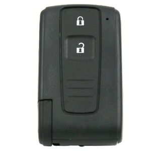 Remote Key Case 1pc 2 Button Black Cover For Toyota Prius Corolla Verso