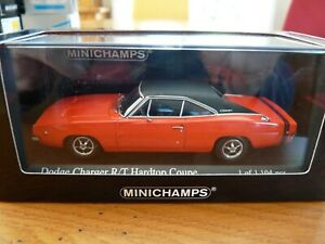 Minichamps 1968 Dodge Charger R t Hard Top Coupe 1 43 Rouge
