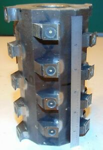 Jointing Cutter Head Insert Shaper Approx 4 Dia 6 1 4 1 1 4 Bore