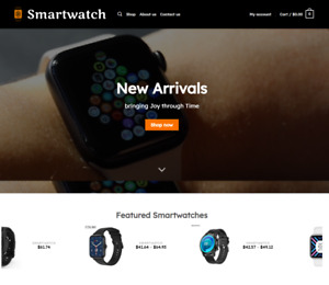 Smartwatch Turnkey Dropshipping Multi Vendor Affiliate Website Free Install