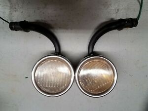 Vintage 1930 1931 Ford Model A Cowl Lights 1 Pair Hot Rod Rat Rod