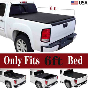 6 Styleside Bed For 83 11 Ranger 94 10 B series Soft Roll up Tonneau Cover