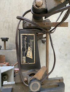 New Hermes Engravograph Gt Machine With Collection Of Multiple Brass Lettering