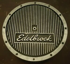 Vintage Edelbrock Elite Series Air Cleaner 14 Diameter 3 13 16 Tall
