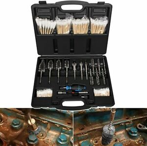 8090s Injector Seat Brush Master Cleaning Kit On Cylinder Heads Stainless Steel