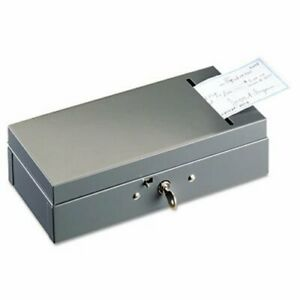 Steelmaster Steel Bond Box With Check Slot Disc Lock Gray mmf221104201