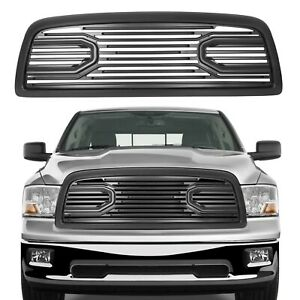 Upper Grille shell For 2009 2010 2011 2012 Dodge Ram 1500 Front Bumper Big Horn