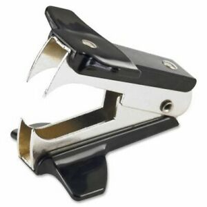 Business Source Staple Remover Plastic Grip Brown bsn65650