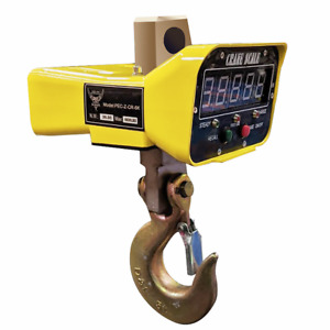Pec Scales Heavy duty Crane Scale Industrial Hanging Scale With Large Led Displ