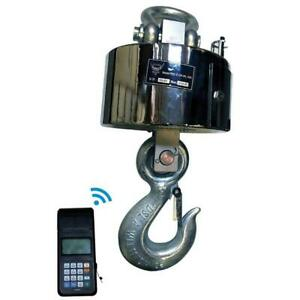 Pec Wireless Crane Scale Stainless Steel Hanging Scales For Heavy duty Industr