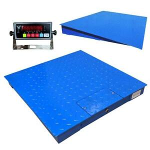 Pec Scales Heavy duty Industrial Floor Scale With Carbon Steel Ramp Accurate Di