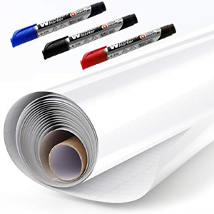 Easy Peel And Stick Dry Erase Self adhesive Whiteboard Sticker Paper Sheets