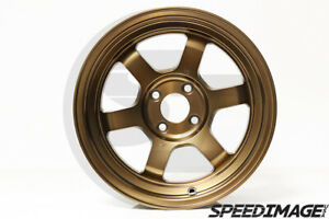 Rota Wheels Grid V 15x7 20 4x100 Sport Bronze Miata E30 Civic Integra Xb