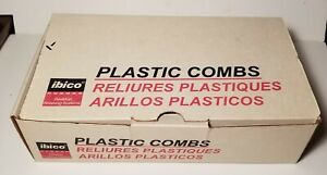 Ibico Plastic Binding Combs Mixed Sizes See Description Please