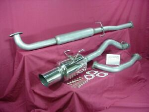 Catback Exhaust Honda Civic Coupe Ex Lx Dx 92 95 Holley