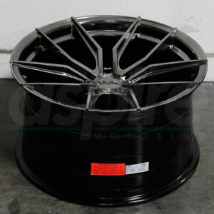 19x8 5 19x10 Chromium Black Wheels Xxr 559 5x120 40 40 set Of 4 72 56