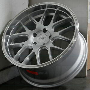 19x10 5 Silver Ml Wheels Xxr 530d 5x114 3 20 set Of 4 73 1