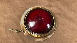 Vintage Doray Red Glass Clearance Marker Tail Light Car Truck Trailer