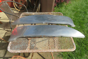1960 1963 Ford Stainless Steel Fender Skirts Foxcraft See Measurements