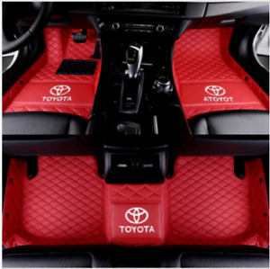 Suitable For Toyota All Models 2005 2021 All Weather Car Floor Mats