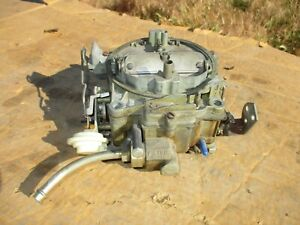 1970 Chevy 7040500 Camaro Chevelle 402 454 Carburetor Carb Quadrajet Q jet