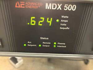 Ship Today Advanced Energy Mdx 500 Dc Sputtering Power Supply 6 Month Wrty