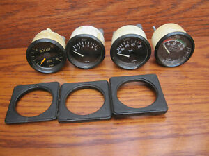 80 s Vw Vdo Console Gauge Set