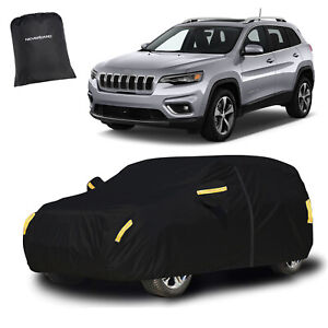 Large Full Suv Car Cover Outdoor Dust Uv Protection Waterproof For Jeep Cherokee