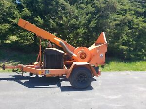 2009 Midsouth 4msd12 Wood Chipper Forestry Arborist