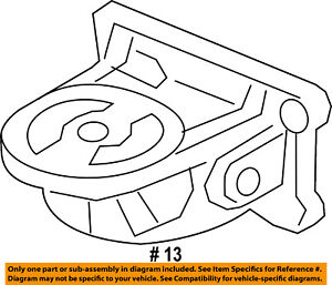 Ford Oem Engine Parts Adapter F2gz6881a