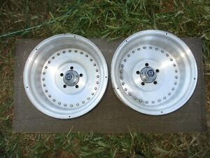 Centerline 15x10 Wheels Rims 5x4 5 Ford Mustang Mopar Charger 5 Back