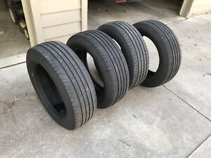 P235 60r18 Michelin Primacy Mxv4 Used 235 60 R18 102t Set Of 4 7 32