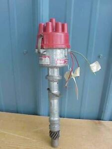 Nice Vintage Mallory V8 Chevy Dual Point Distributor 3748201 D
