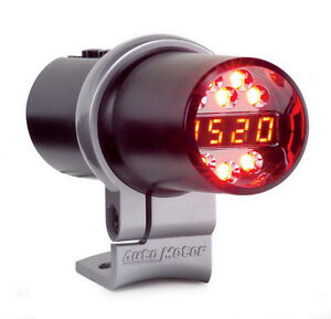 Autometer 2 1 16in D p s Shift Light Playback Blk 5350