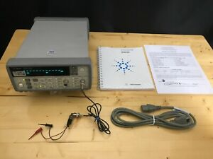 Hp Agilent 53131a 3ghz Universal Counter With Calibration Cert