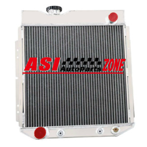 4row Aluminum Radiator For 60 64 Ford Ranchero Falcon Econoline 65 66 Mustang V8