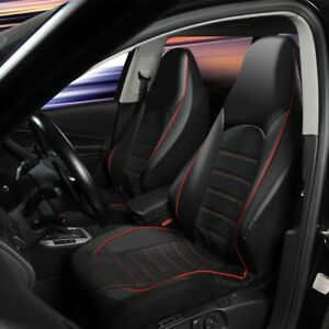Car Seat Cover High Qulaity Front Set Pu Leather Faux Seat Protector 3 Colors