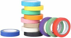 Painters Tape Colored Masking Tape 12 Colors Masking Tape Art Crafts Diy