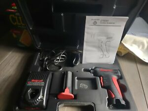 Snap On Cts561cl Cordless Screwdriver Gun With Charger Case Battery And Manual