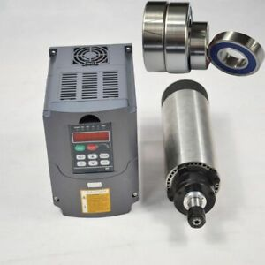 1 5kw Matching Motor Spindle Vfd Cnc 80mm Er16 And Air coole Inverter For