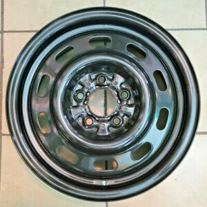 15 Ford Thunderbird Cougar Black Steel Oem Wheel Rim Very Clean A
