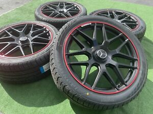 Mercedes benz G550 G500 G63 G Class Oem Factory Style 22 Inch Amg Wheels Tires