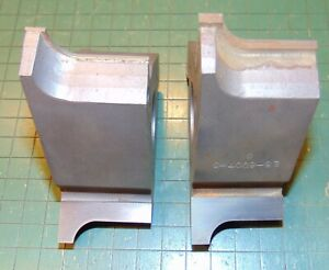 Lot Of 2 Molding Shaper Cutters 1 1 4 Bore Profile Woodworking