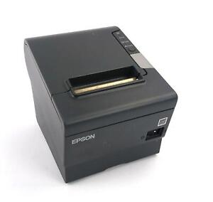 Epson Tm t88v M244a Rs232 Usb Thermal Receipt Printer Working Printer Only