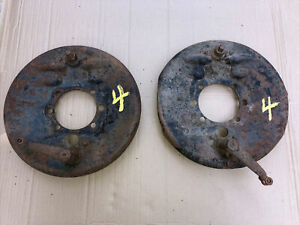 1930 1931 Model A Ford Rear Backing Plates Brakes Tudor Coupe Pickup 30 31 29 4