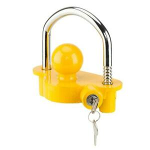Trailer Anti Theft Device Universal Coupler Security Lock For 1 7 8 2 2 5 16