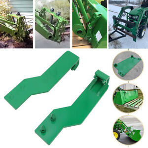 2pcs Loader Quick Tach Weld On Mounting Brackets For John Deere Free Shipping