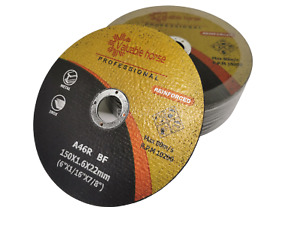 50 Pack 6 x 1 16 X7 8 Cut Off Wheel Metal Stainless Steel Cutting Discs