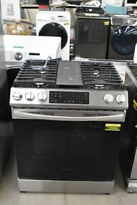 Samsung Nx60t8311ss 30 Stainless Slide in Natural Gas Range 109950